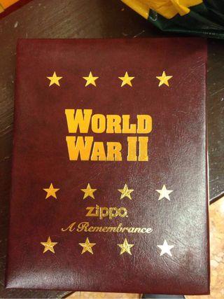 Lote mecheros ZIPPO WORLD WAR II