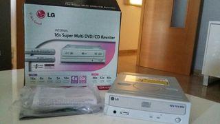 Regrabadora DVD LG