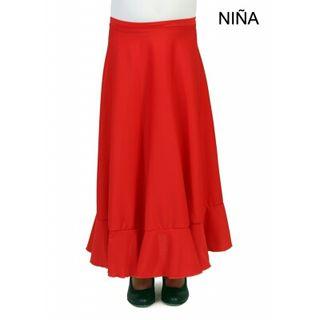 Falda de flamenca.