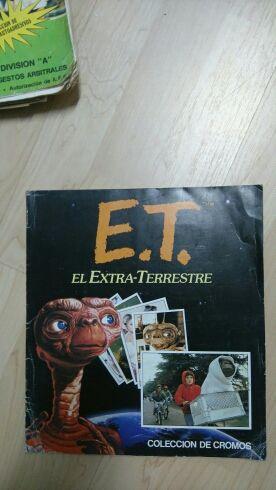 Album de cromos de E.T