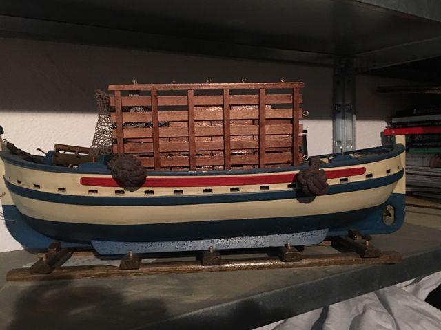 Barco maqueta