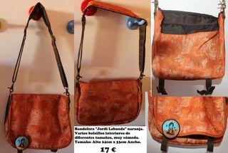 Bolsa bandolera grande diseñador Jordi Labanda
