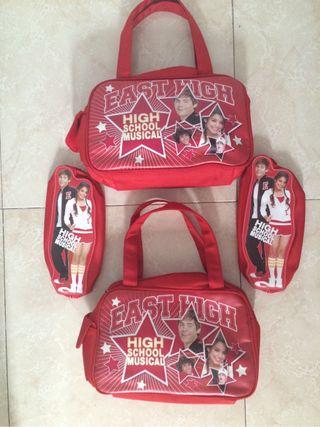 Mochila, bolsos y estuches High School Musical