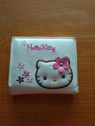 "Cartera original ""hello kitty"""