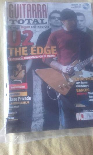 Revista U2. The edge Guitarra Total.