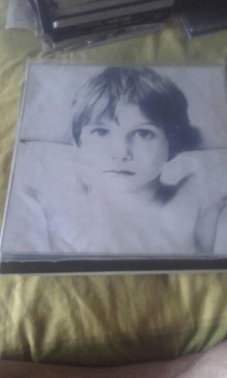 U2 Boy. Vinilo edición Portugal.