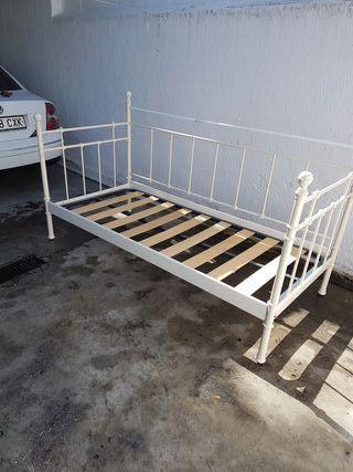 Estructura de cama de acero de segunda mano por 60 en for Estructura cama 90x200
