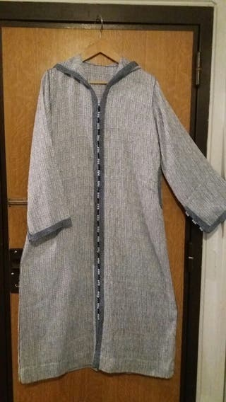 Caftan Djelaba Tekcheta robe marocaine bleue