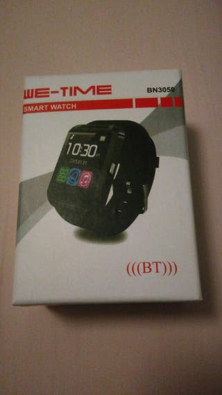 Smart watch We Time bn3050 nuevo
