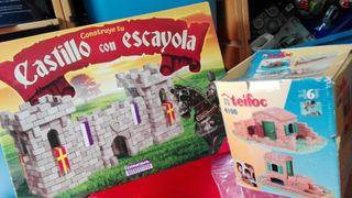 juegos Construcción de escayola y ladrillo niños