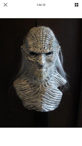 Máscara Latex caminante blanco