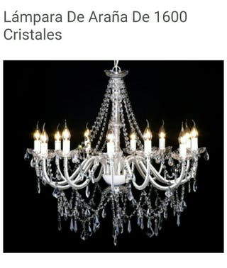 Lámpara de araña o de cristaleS