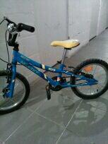 Bicicleta 4a5con ruedines