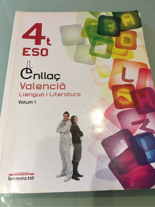 Libro de texto. Libro de valenciano