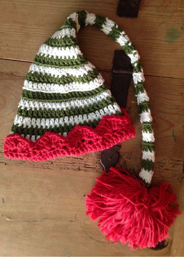 Gorro bebe tipo elfo duende color Navidad de segunda mano por 19 ... 8aace15821d