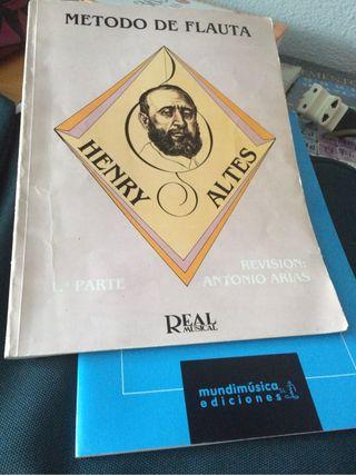 Metodo Completo De Flauta Henry Altes