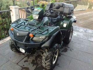 Suzuki king quad 700. 4x4 iny. Verde de 2006