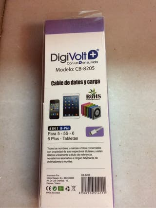 Cargador IPhone 5/6