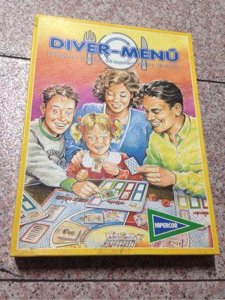 Diver menu