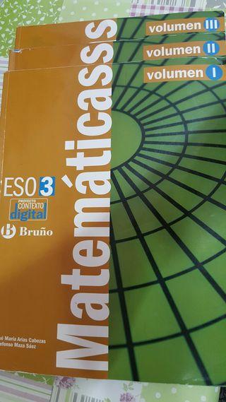 Matemáticas 3°e.s.o BRUÑO