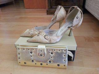 Zapatos y bolso