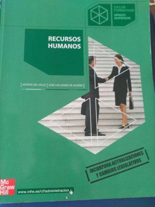 Libro recursos humanos.