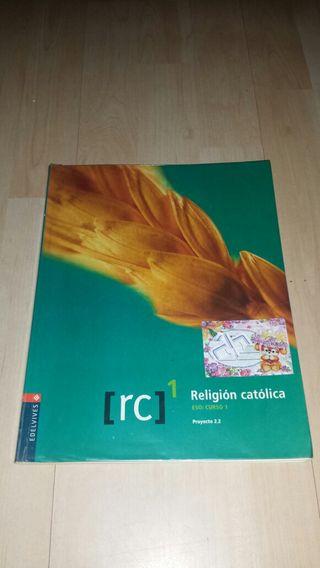 Libro de religión catolica