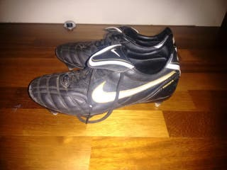 Botas de aluminio Nike Tiempo 1984