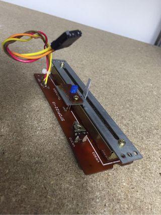 Pitch Control Completo Para TECHNICS 1200 1210 Mk2, Led Azul y Sin Click Central