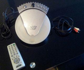 DVD Sony con mando a distancia