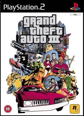 Grand Theft Auto 3 / GTA III PS2
