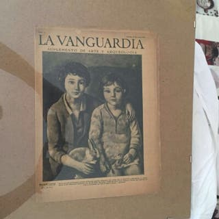 Suplemento arte i arqueologia La vanguardia 1929