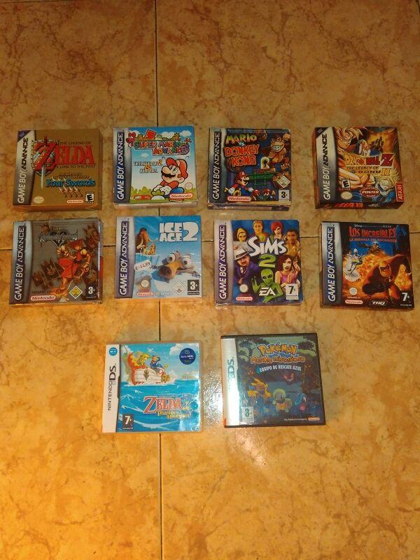 Juegos Gba Gameboy Advance Juego Nds Nintendo Ds De Segunda