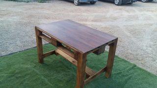 Mesa de palet artesana