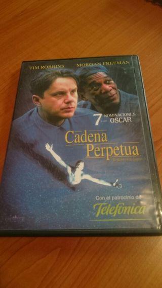 Cadena Perpetua en DVD