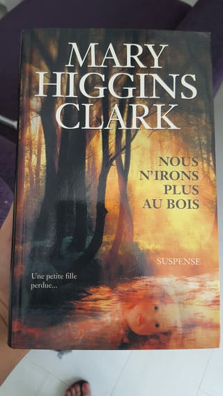 Libro en francés Mary Higgins Clark