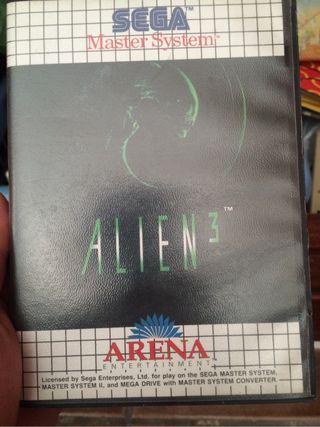 Sega master system 2 alien 3