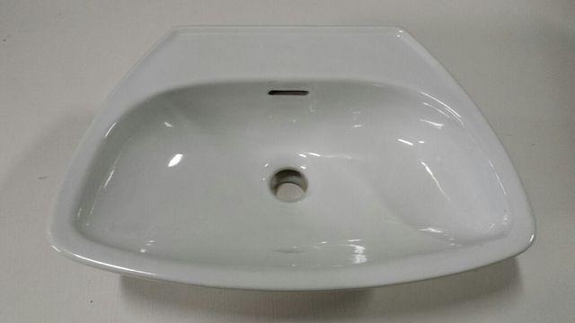 Lavabo pequeño 45cm(ancho)X31cm(fondo) blanco