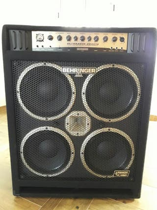 Amplificador behringer profesional nuevo oferta