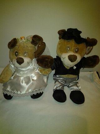 Peluches para novios boda