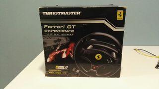 Volante Thrustmaster Ferrari GT experience