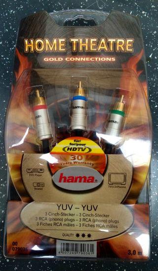 Cables Hama para home cinema y audio