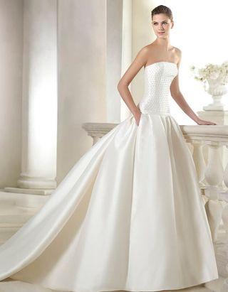 Vestido de novia ST. Patrick modelo Siannan colección 2015
