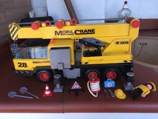 Playmobil camión grúa años 90