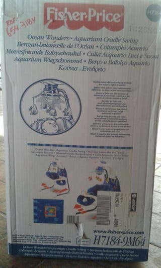 Columpio acuario Fisher price