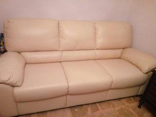 sofá y sillones cuero Natuzzi