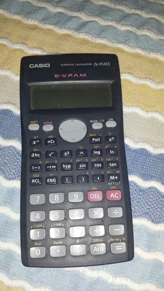 Calculadora cientifica fx-95MS marca Casio