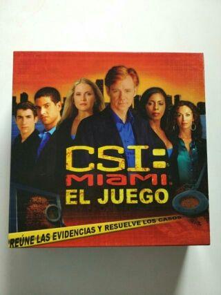CSI : Miami juego de mesa