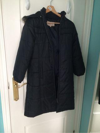 Abrigo largo colegial