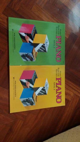 Libros de piano